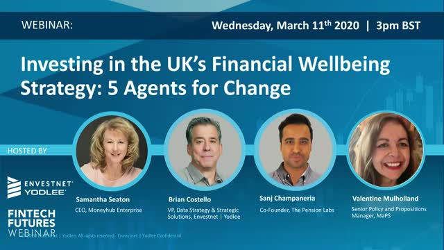 Investing in the UK's Financial Wellbeing Strategy: 5 Agents for Change