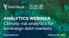 Webinar: Climate risk analytics for sovereign debt markets