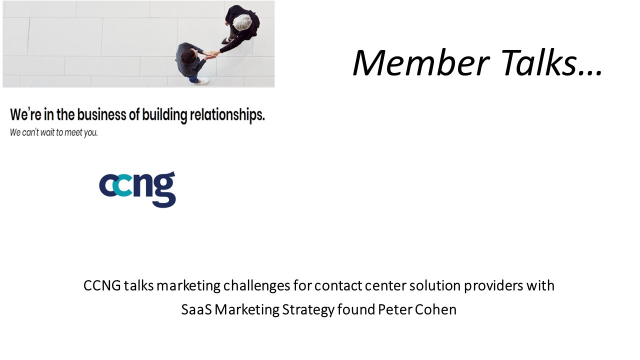 SaaS Marketing Strategy -- Interview with Peter Cohen