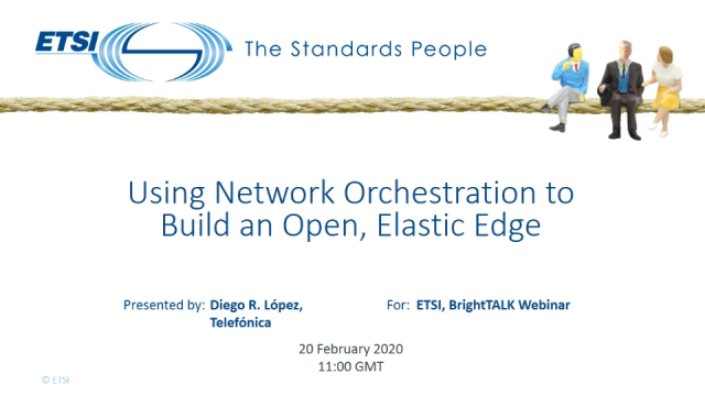 Using Network Orchestration to Build an Open, Elastic Edge