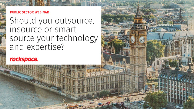 Outsource, insource or smart source: what's best for the public sector?
