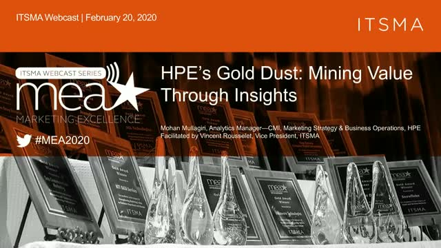HPE's Gold Dust: Mining Value Through Insights