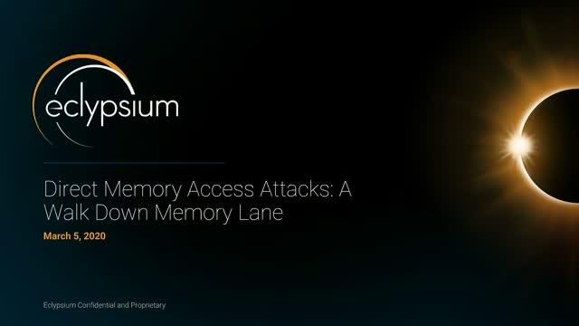 How Direct Memory Access Attacks Bypass Hardware Protections