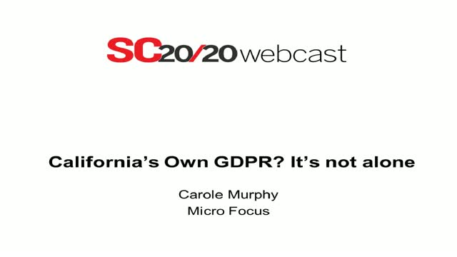 California's own GDPR? It's not alone