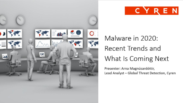Malware in 2020: Recent Trends and What Is Coming Next