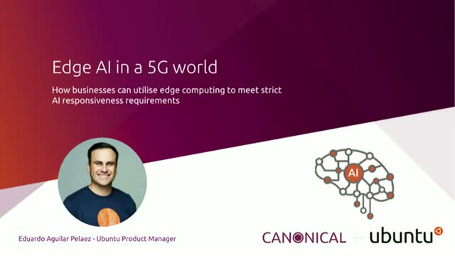 Edge AI in a 5G world