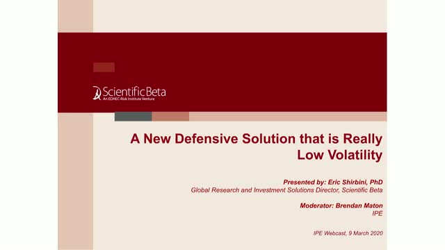 A New Defensive Solution That Is Really Low Volatility