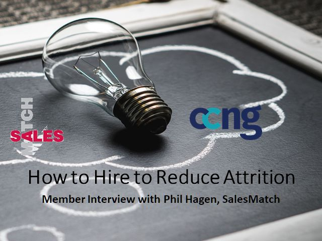 How to Hire to Reduce Attrition: Member Interview with Phil Hagen, SalesMatch