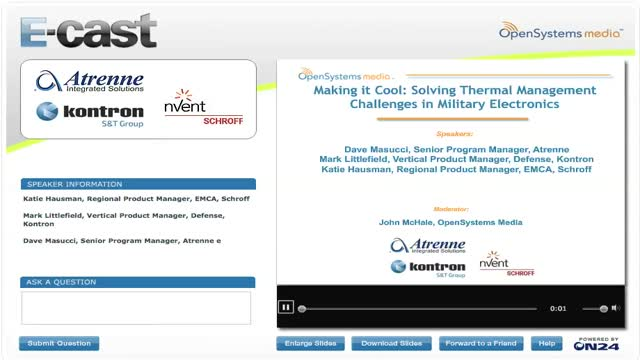 Making it Cool: Solving Thermal Management Challenges in Military Electronics