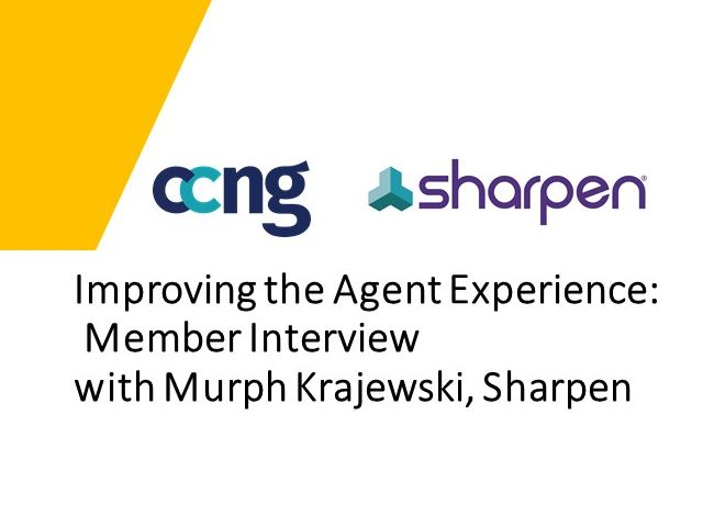 Improving the Agent Experience: Member Interview with Murph Krajewski, Sharpen