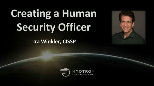 Introducing the Human Security Officer