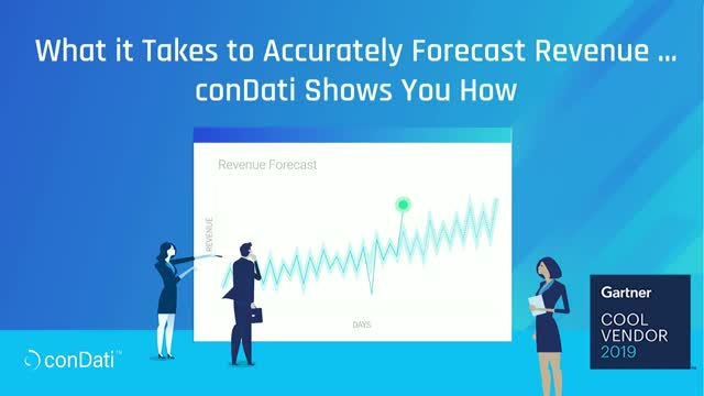 What it Takes to Accurately Forecast Revenue ... conDati Shows You How