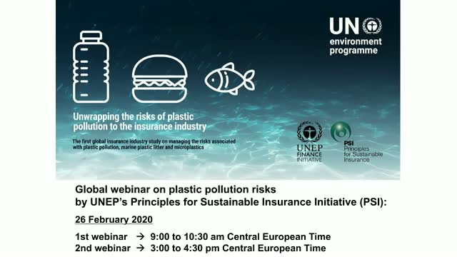 Unwrapping the risks of plastic pollution: The 1st global insurance study