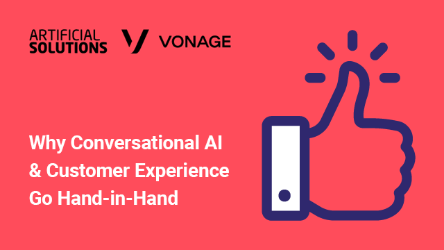 Why Conversational AI and CX Go Hand-in-Hand