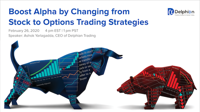 Boost Alpha by Changing from Stock to Options Trading Strategies