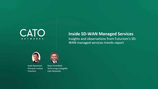 SD-WAN: Are Managed Services in Your Future?