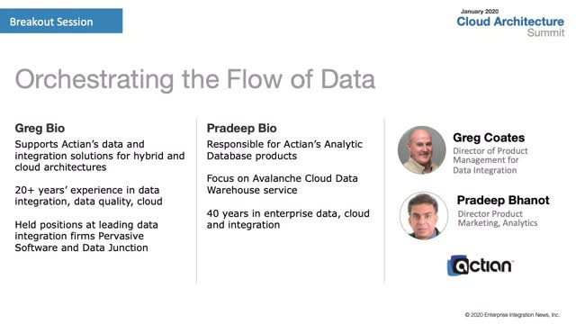 Orchestrating the Flow of Data