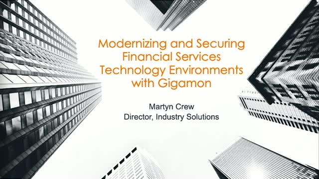 Modernizing and Securing Financial Services Technology Environments EcoCast