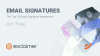 Email Signatures: The Top 10 Email Signature Headaches