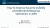 How to improve security visibility and detection-response operations in AWS