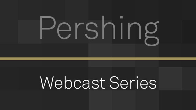 Pershing Webcast Series: Subscribe®