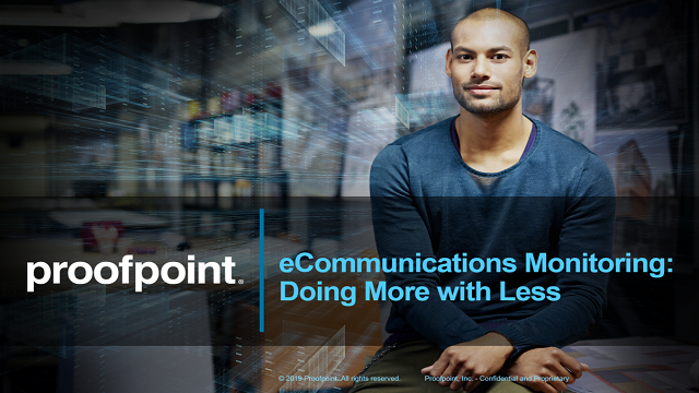 eCommunications Monitoring: Doing More with Less