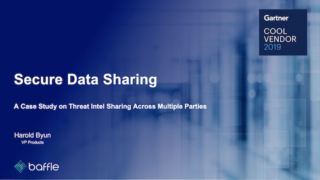 A Case Study on Threat Intel Sharing Across Multiple Parties