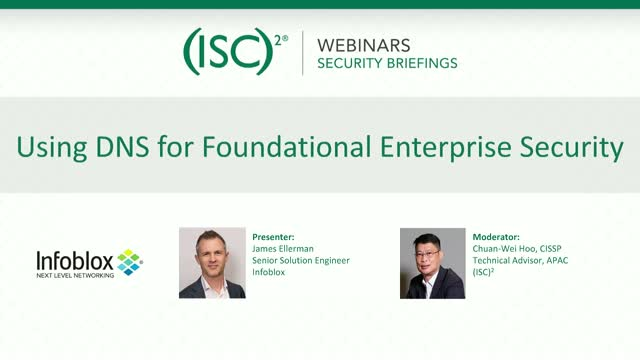 Using DNS for Foundational Enterprise Security