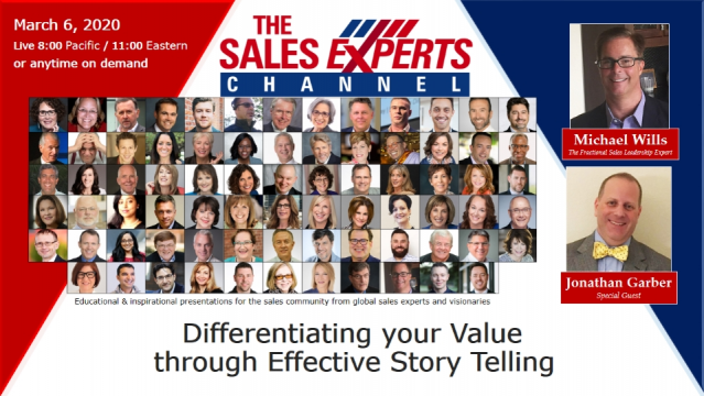 Differentiating your Value through Effective Story Telling