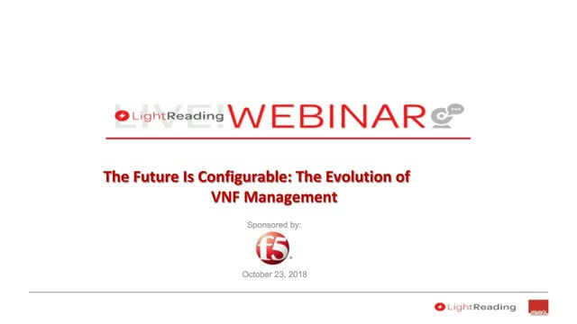 The Future Is Configurable: The Evolution of VNF Management