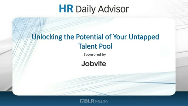 Unlocking the Potential of your Untapped Talent Pools