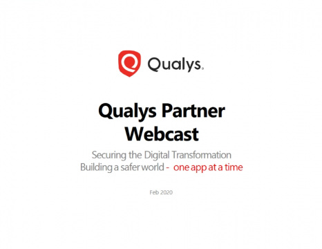 Qualys Cloud Platform & Partner Program Updates