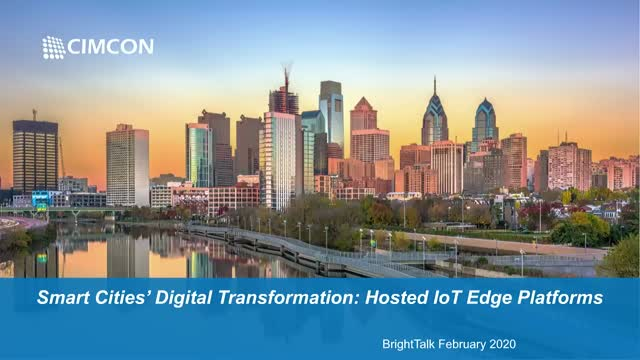 Smart Cities' Digital Transformation: Hosted Edge IOT Platforms