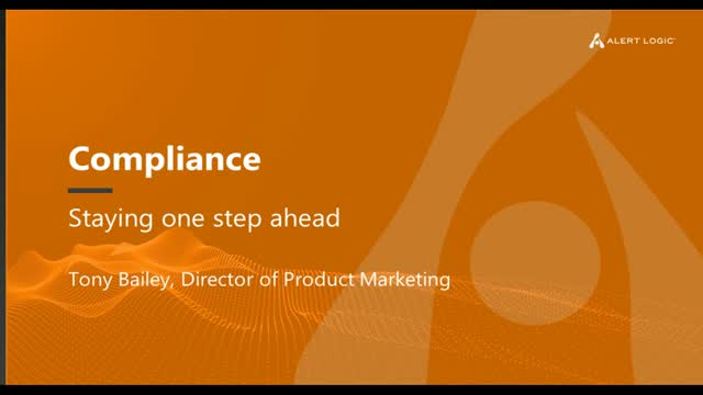 Compliance: Staying One Step Ahead
