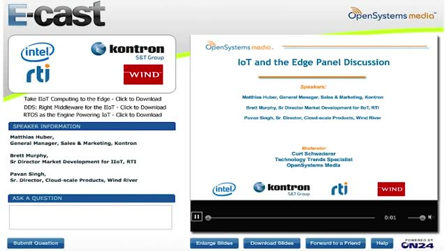 IoT and the Edge Panel Discussion