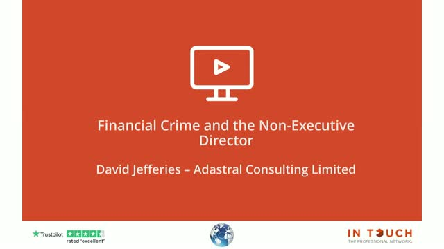 Financial Crime & The NED