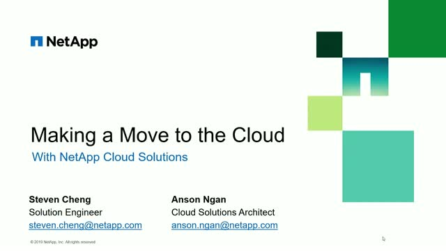 Making the Move to Cloud