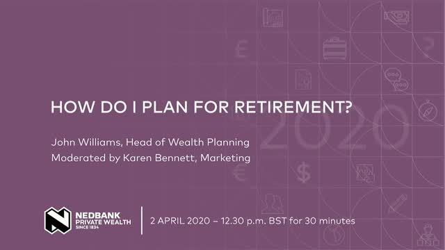 How do I plan for retirement?