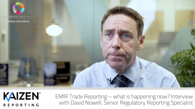 Kaizen: EMIR Trade Reporting – what is happening now?