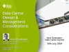 Data Centre Design & Management Considerations