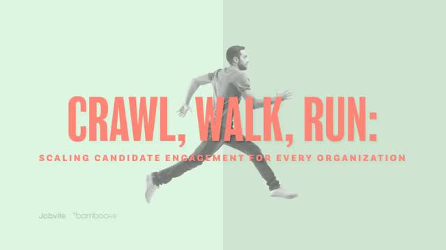 Crawl, Walk, Run: Scaling Candidate Engagement for Every Organization