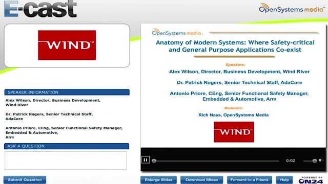Modern Systems: Where Safety-critical and General Purpose Applications Co-exist