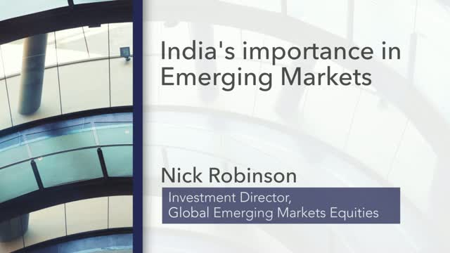 India's Importance in Emerging Markets
