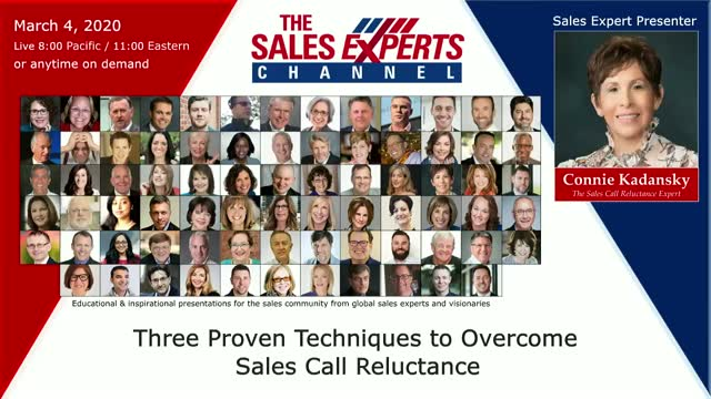 Three Proven Techniques to Overcome Sales Call Reluctance