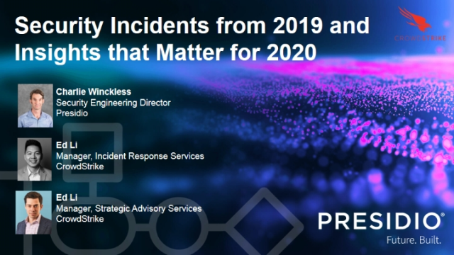 Security Incidents from 2019 and Insights that Matter for 2020