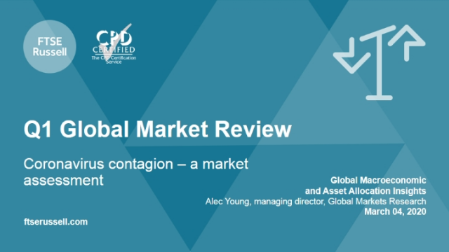 Q1 Global Market Review: Coronavirus contagion – a market assessment