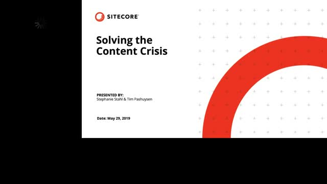 Solving the Content Crisis