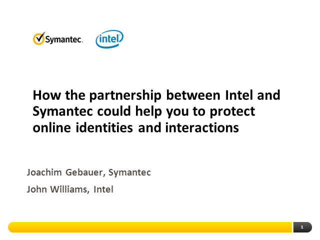 How the partnership between Intel and Symantec could help you to protect online