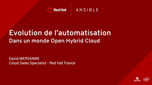Automatiser le Cloud Hybride pour mieux innover [French]