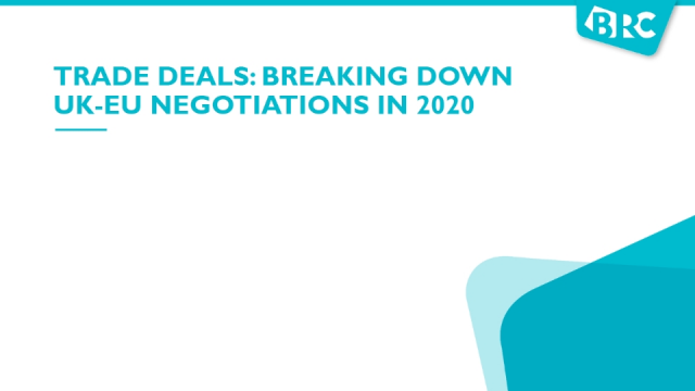 What is a trade deal? Breaking down the UK-EU negotiations in 2020